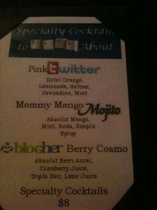 Cocktailmenu