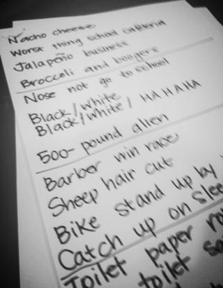 E set list